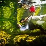 Trash the Dress underwater photographer