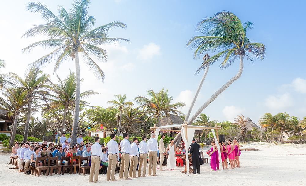 Tulum Wedding Ceremony