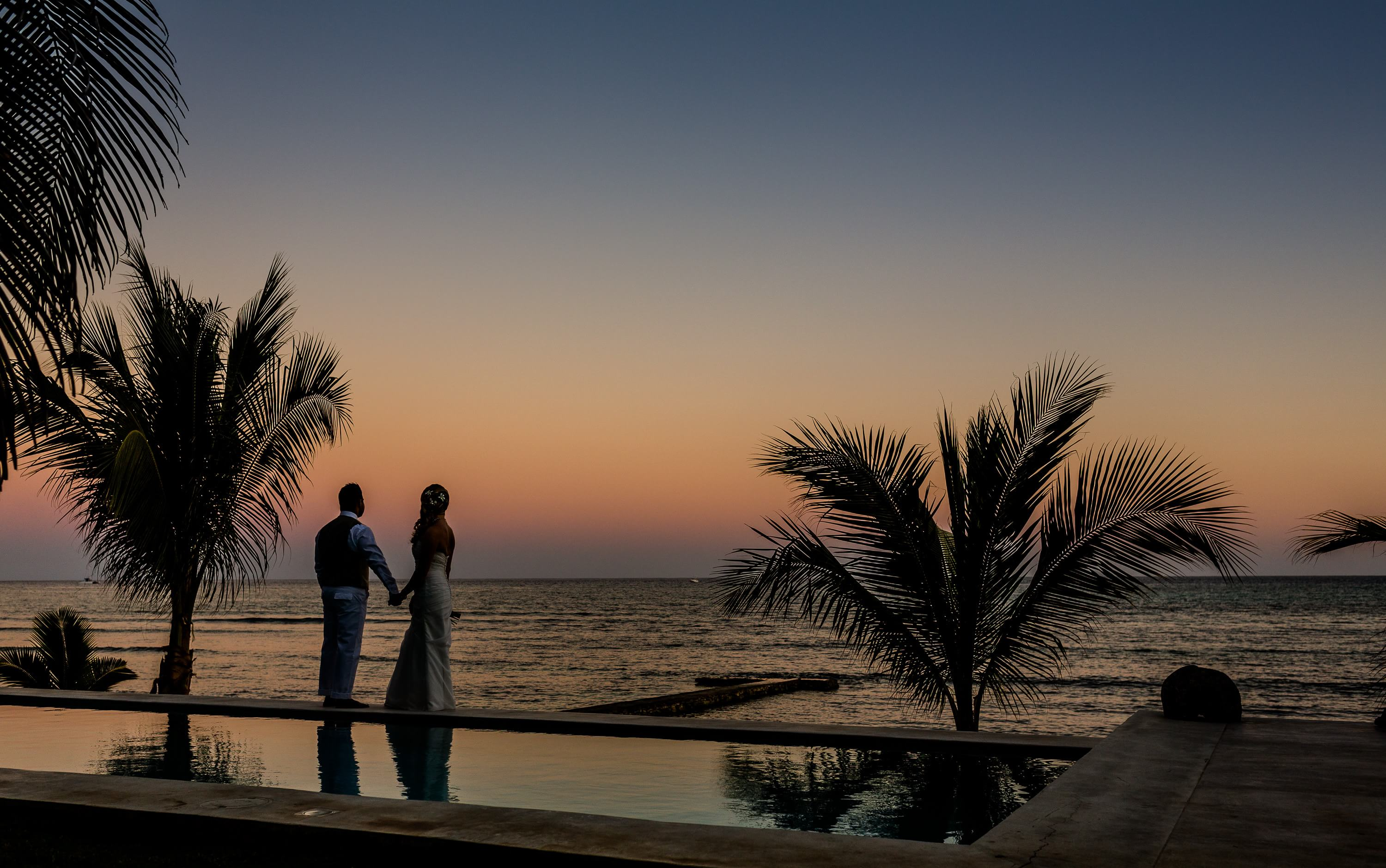 Beautiful Hacienda del Mar Riviera Maya Wedding