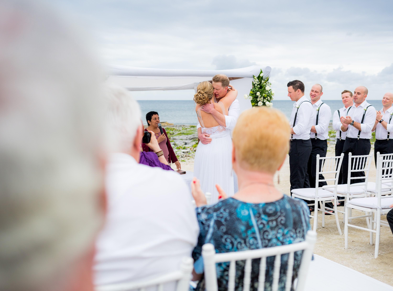 Beautiful Couple at Riviera Maya Wedding Photography