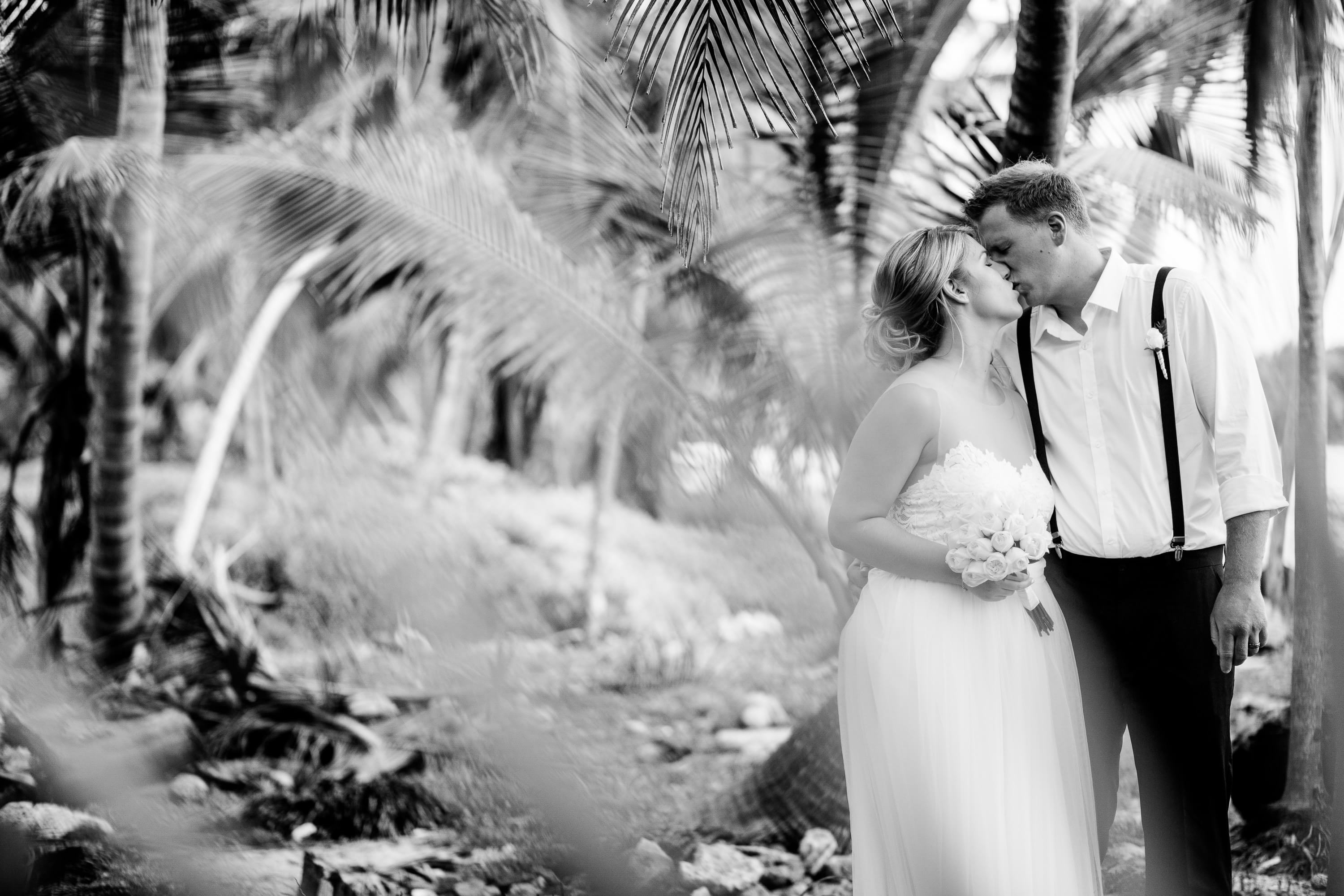 Beautiful Riviera Maya Wedding Photography