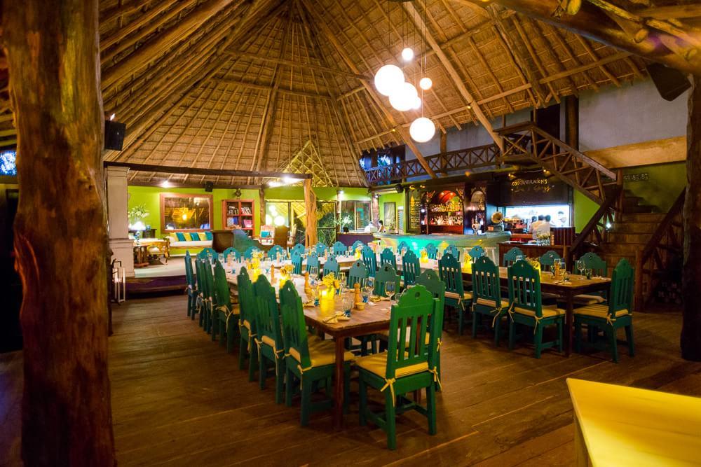 Reception location at El Pez Hotel Tulum