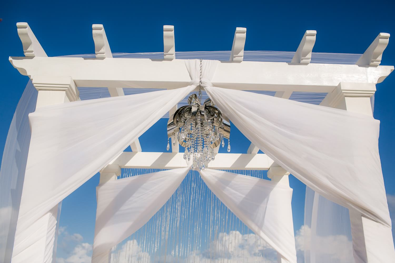 Arch at Secrets at The Vine Cancun wedding