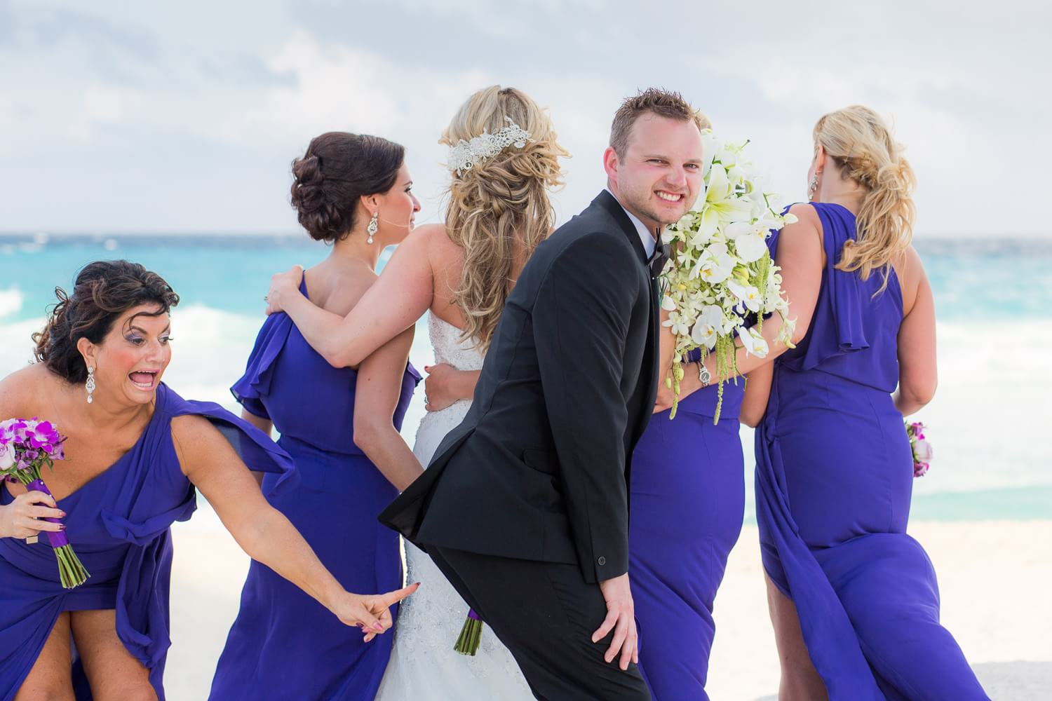 Secrets the Vine Cancun Wedding