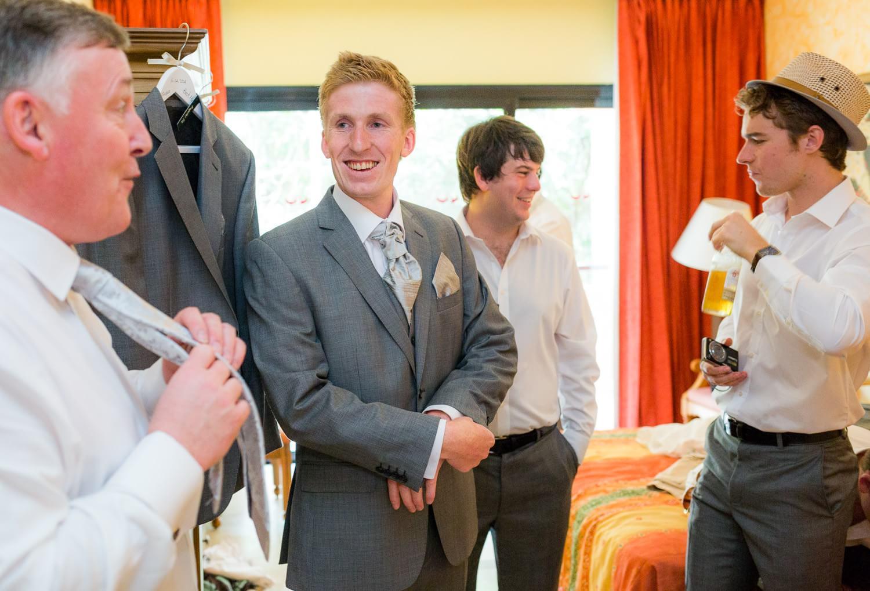 Guys getting ready at Grand Palladium Riviera Maya Wedding
