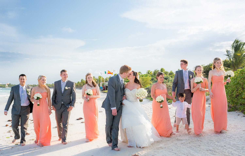 Vanessa and Robert's Grand Palladium Riviera Maya Wedding Photography