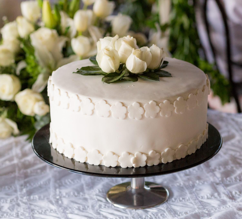 Detail of cake at Grand Palladium Mexico Wedding