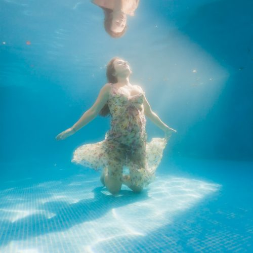 Underwater and pregnant