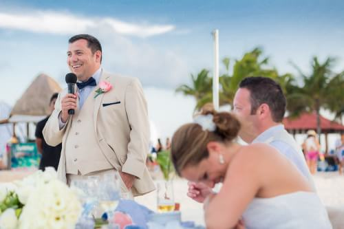 advice on giving a great groom's speech