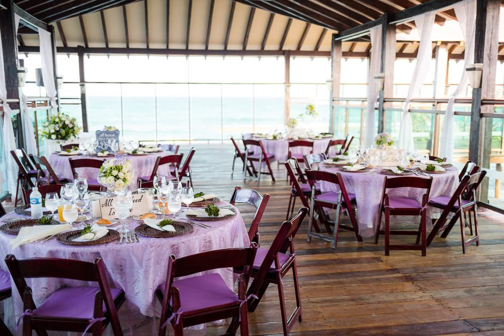 Wedding reception location at Riviera Maya Wedding
