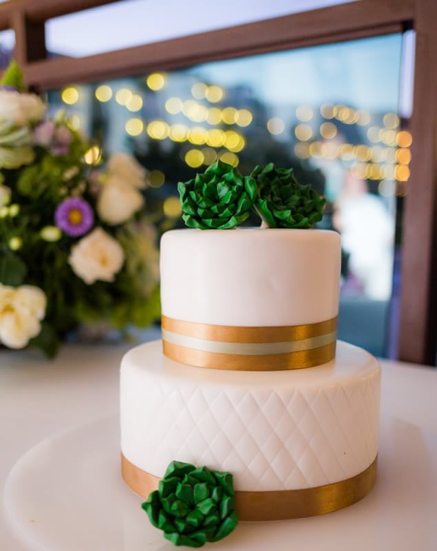 Wedding cake at Generation Riviera Maya Wedding