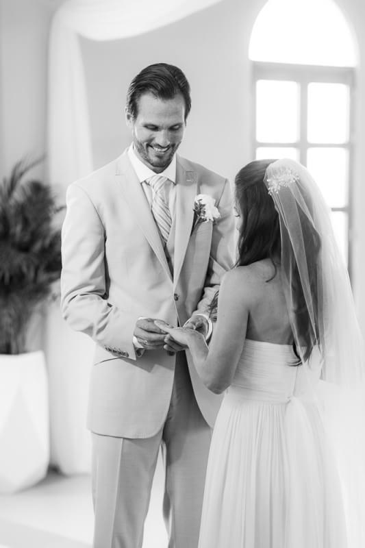 Bride and Groom at Generations Riviera Maya Wedding