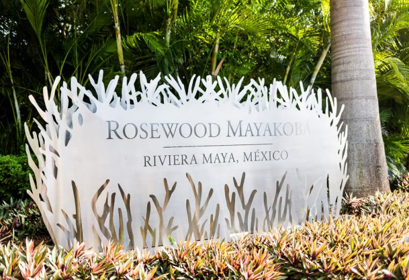 Rosewood Mayakoba Riveira Maya Wedding