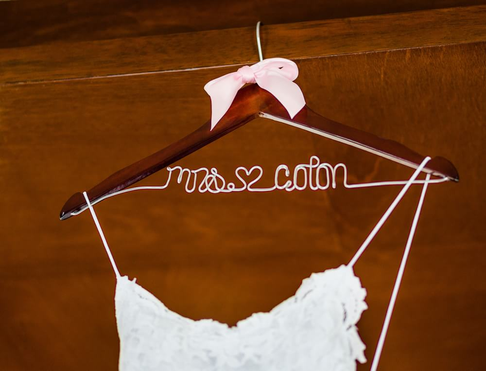 Etsy wedding hanger for your Riviera Maya Wedding