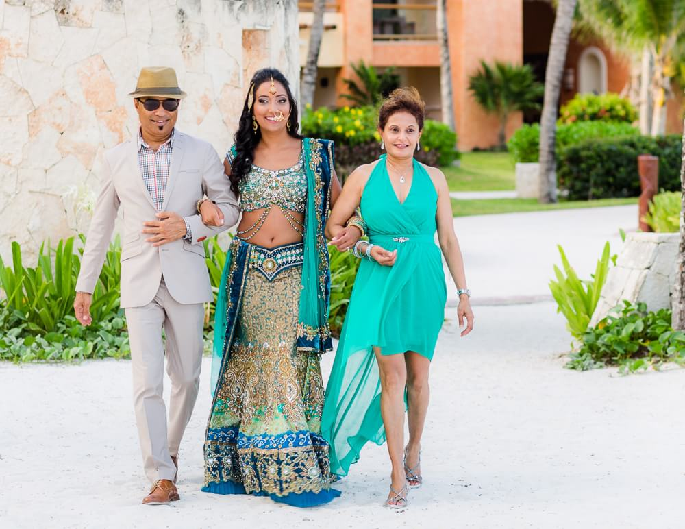 Beautiful Barceló Riviera Maya Wedding