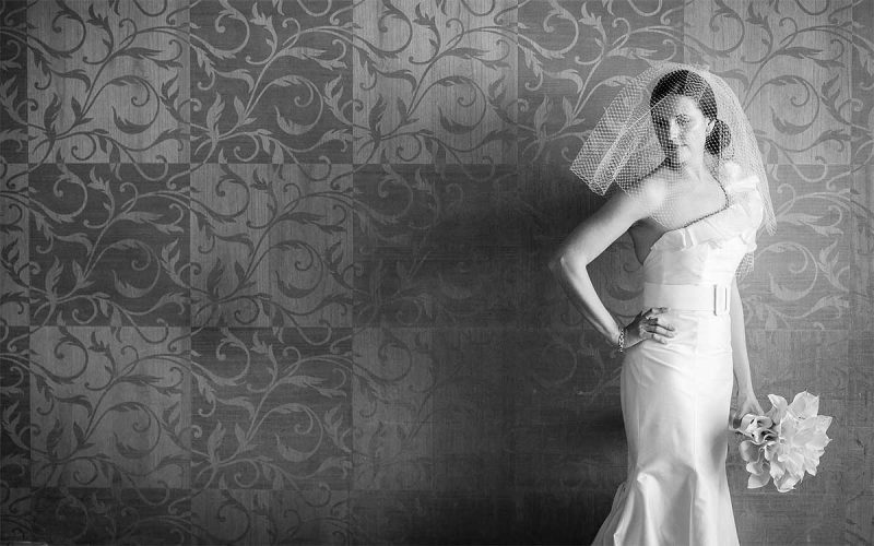 Phi-Style: The Old Glamour Bride for your Cancun Wedding
