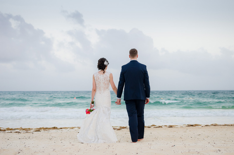 Better together at Now Jade Riviera Maya Wedding