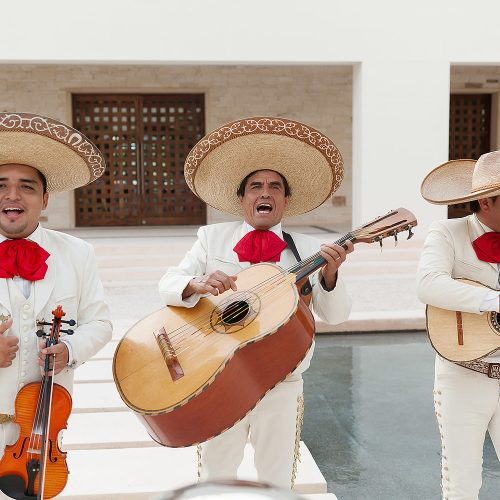 Mariachi band at Secrets Akumal Riviera Maya
