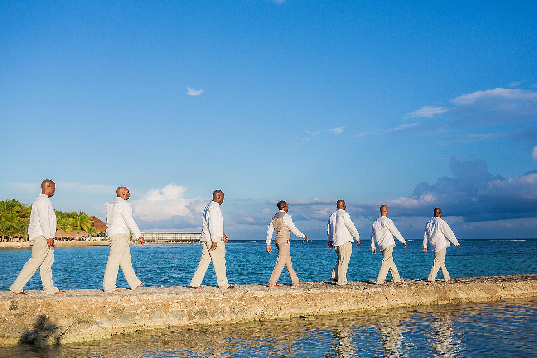 An El Dorado Seaside Suites Wedding in the Riviera Maya