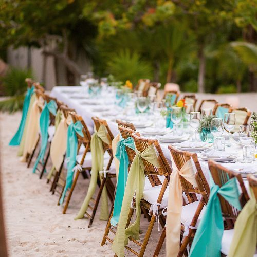 Wedding reception location in Tulum