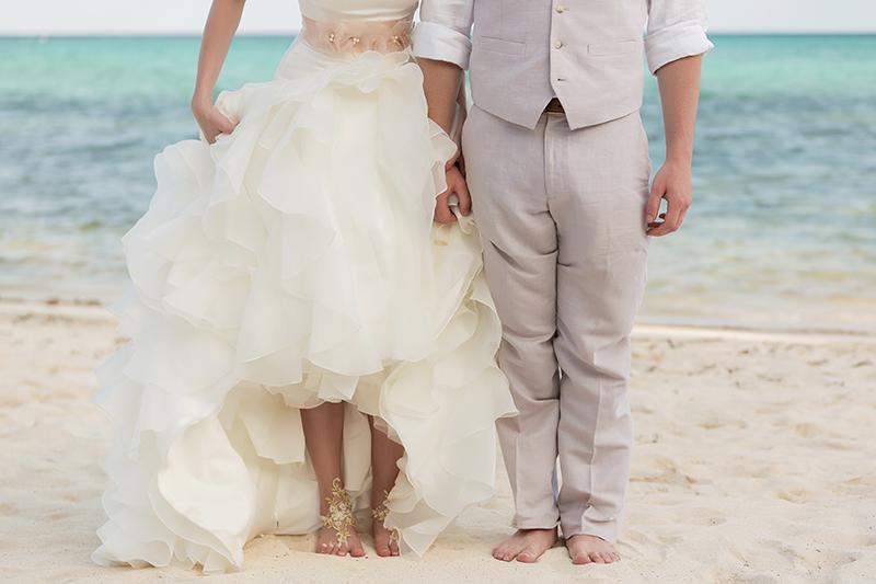 Erin and Adam's Soliman Bay Wedding