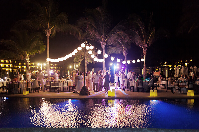 Venue photograph at Secrets Maroma Beach Wedding Reception