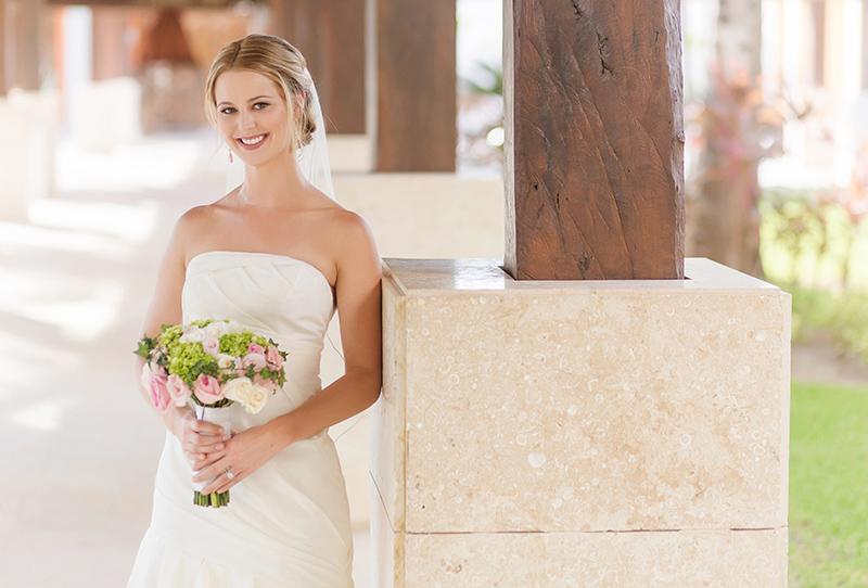 Bride at Excellence Playa Mujeres