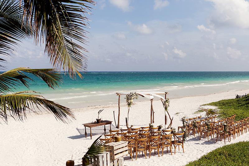Tulum wedding ceremony location