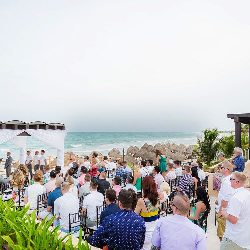 Pergola wedding location at NOW Jade Riviera Cancun