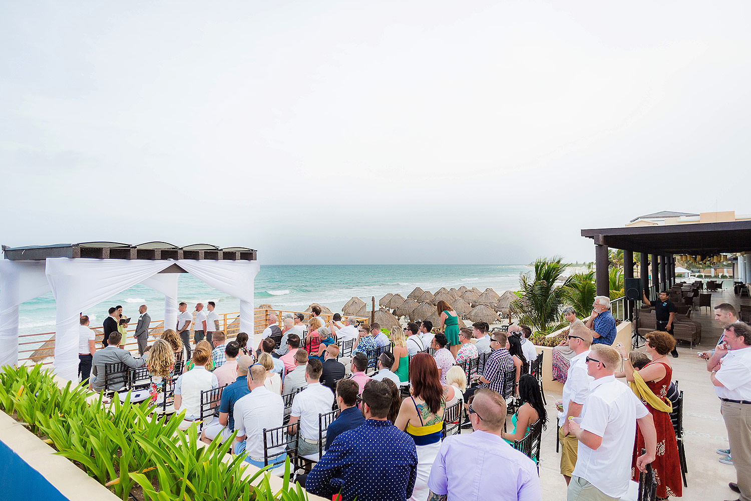 Pergola Wedding Location At Now Jade Riviera Cancun