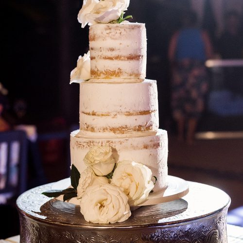 Wedding cake at Punta Venado beach club