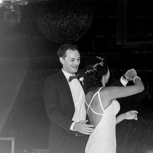 Bride and grooms first dance.