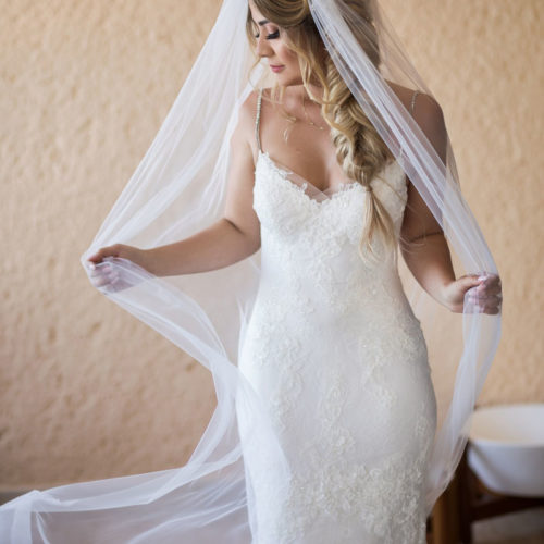 Portrait of bride at NOW Sapphire Riviera Maya Resort